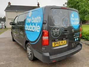 The Bath Bubble Vehicle Graphics