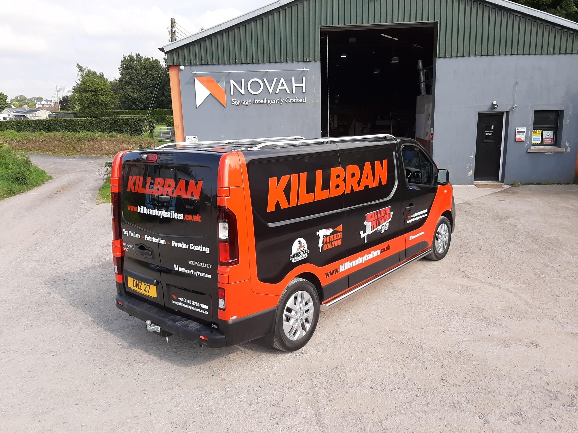 Killbran Vehicle Halfwrap